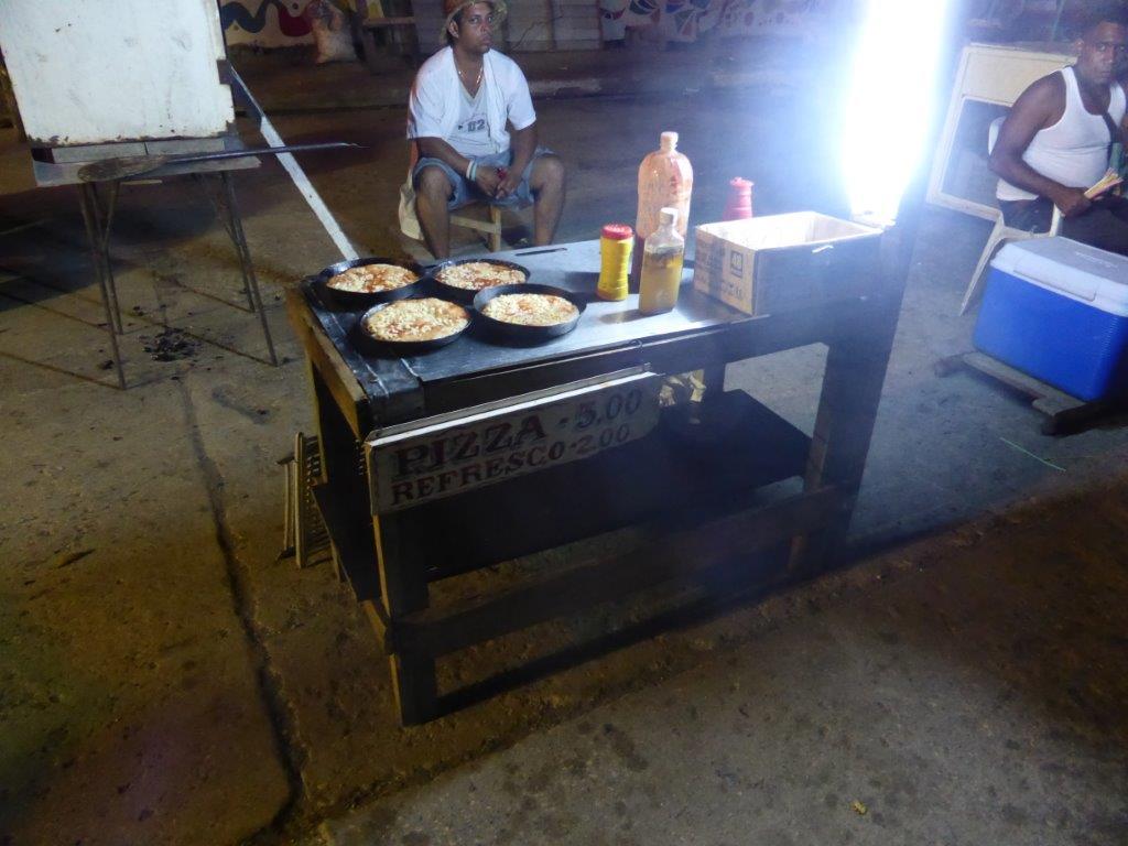 קובה אוכל רחוב פיצה