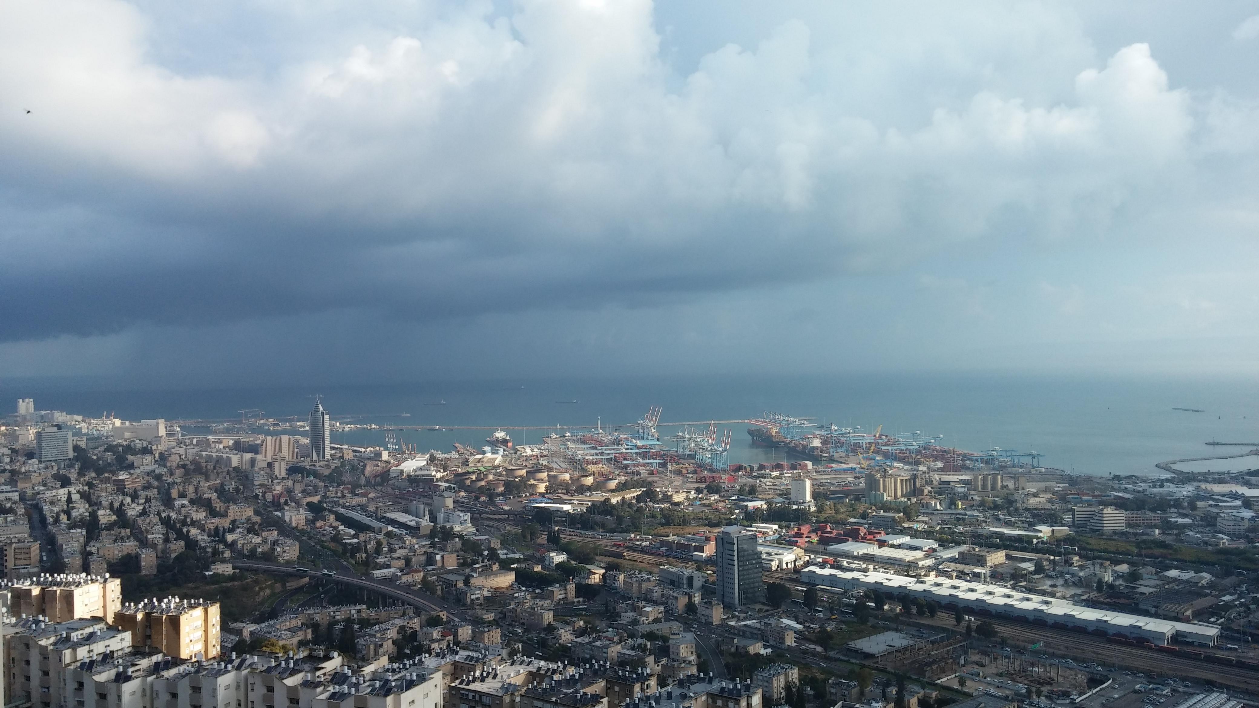 חיפה לצפון מערב צילום: מאיר פלג