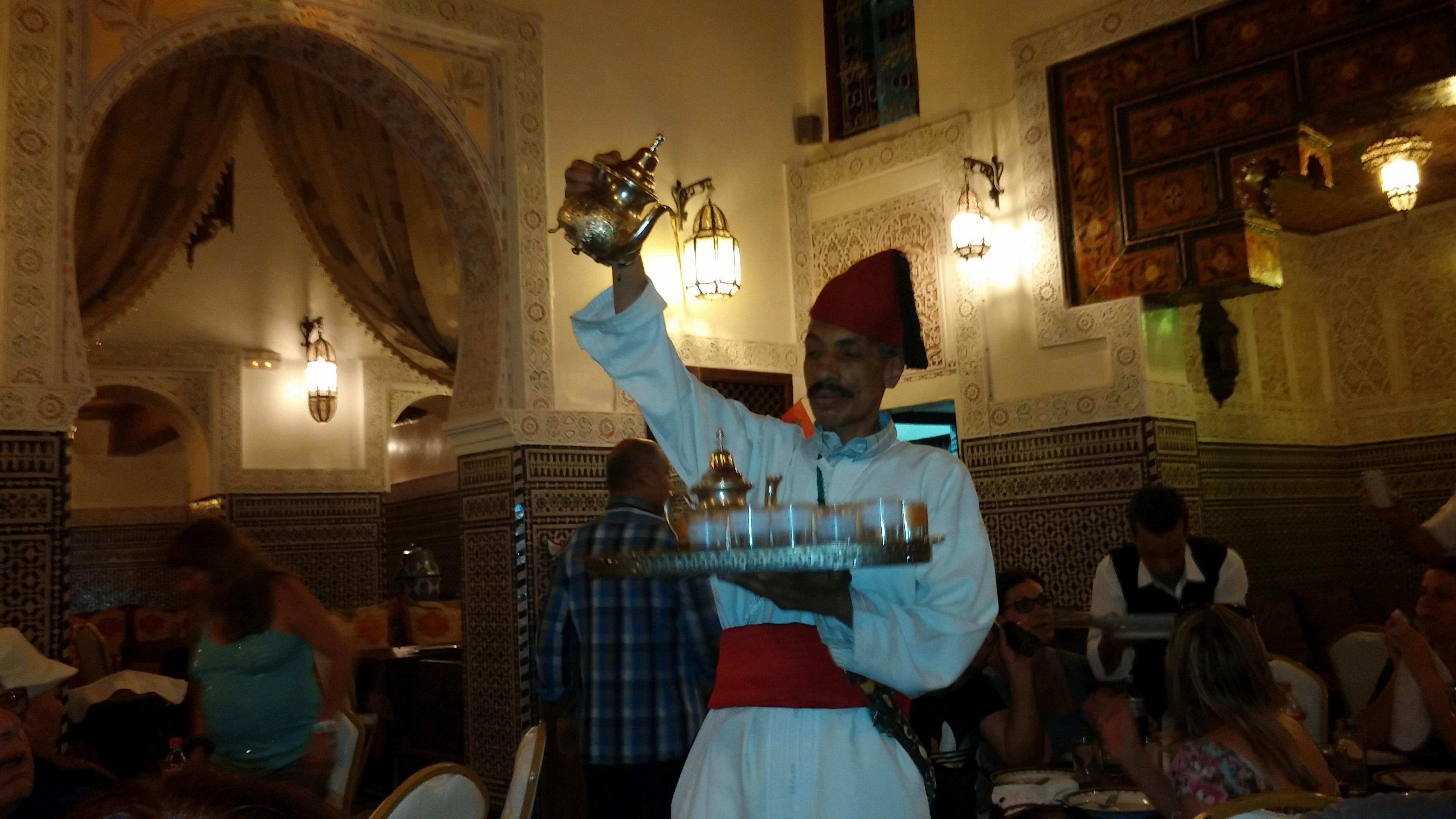 מזיגה מרוקאית צילום: מאיר פלג
