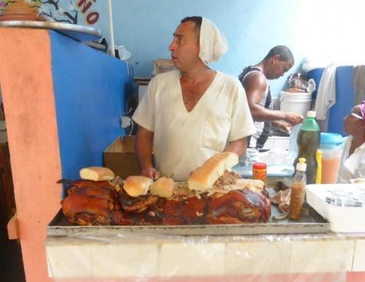 אוכל ברחוב גם בקובה