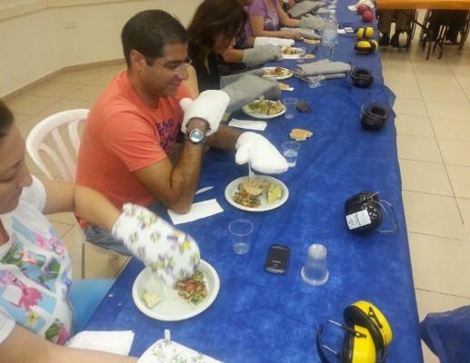 'ארוחת חושים' במכללת אורנים