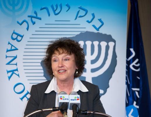 נגידת בנק ישראל במסיבת העיתונאים