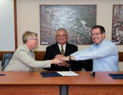 לוקהיד מרטין ויישום חתמו על הסכם שיתוף פעולה