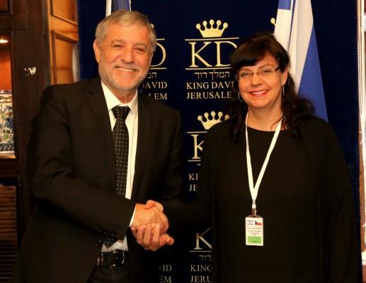 שרי הרווחה של ישראל וצ'כיה נפגשו