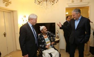 שר הרווחה ומבקר המדינה סיירו במעון נכים