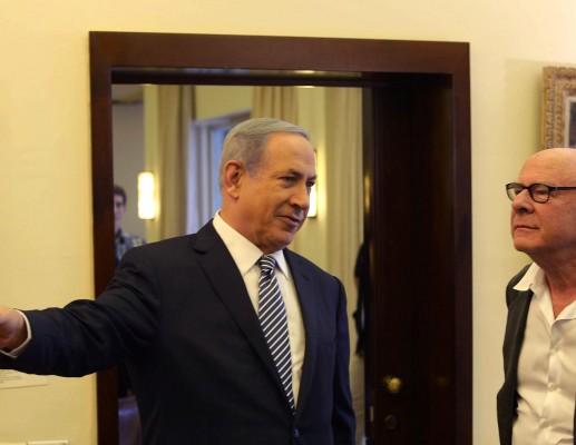 ראש הממשלה בנימין נתניהו, אירח את ארט גורפינקל