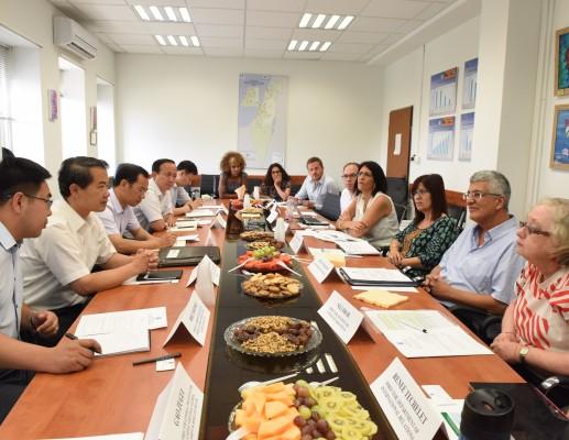 משלחת מסין ביקרה במשרד הרווחה