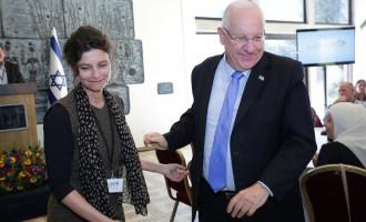 """נשיא המדינה נפגש עם מנהלי המתנ""""סים"""