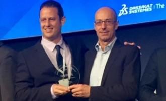 דאסו סיסטמס העניקה פרסים לשני שותפים ישראליים