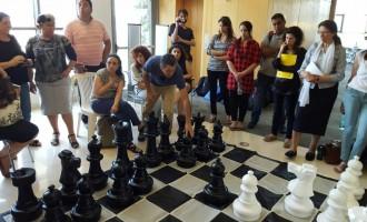 המורים משחקים בשיעור