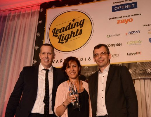 ECI זכתה בפרס Leading Lights