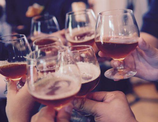אלכוהול בחתונה