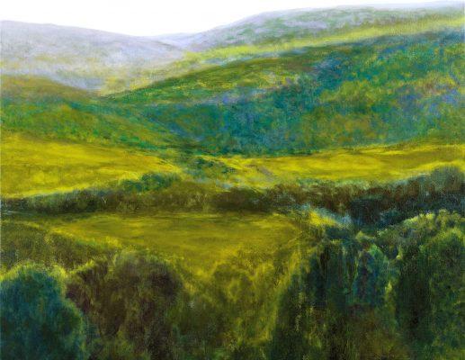"""""""כתמים ונוף"""" תערוכה חדשה לציירת רבקה בר-דב"""