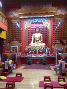 צילום המקדש מבפנים