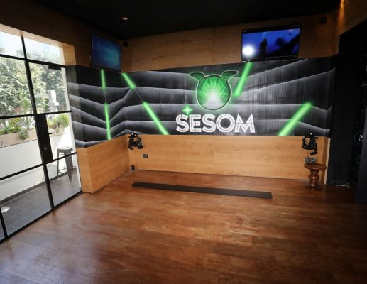 SESOM: מתחמי מציאות מדומה