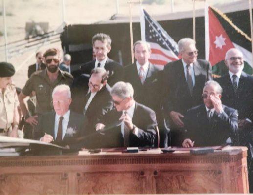 25 שנים להסכם השלום בין ישראל לירדן (1)