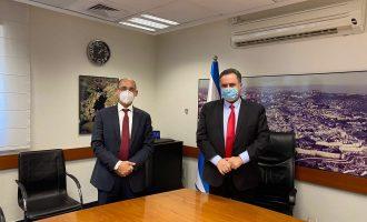 שר האוצר ונגיד בנק ישראל בפגישת עבודה ראשונה